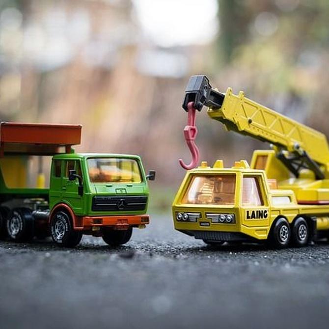 Profesiones que necesitan un camión grúa