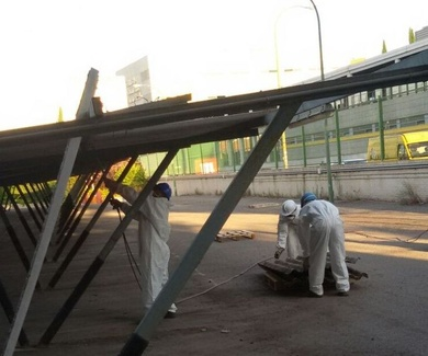 Especialistas en trabajos con amianto en Madrid- Toledo- Guadalajara