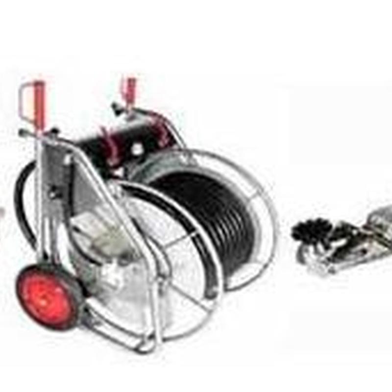 Robot fresador: Productos y servicios  de Anulaciones Sépticas Mungia