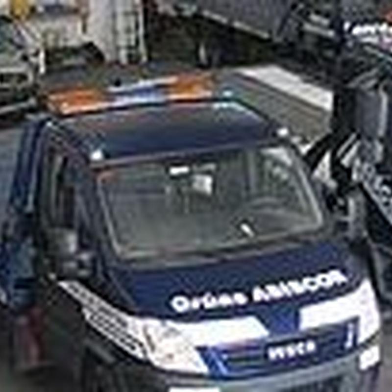 Custodia de vehículos: Recursos de Grúas Asiscor