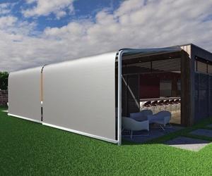 Toldos eléctricos con posibilidad de recubrimiento de terrazas total o parcialmente