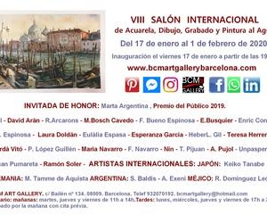 VIII SALÓN DE ACUARELA , DIBUJO, GRABADO Y PINTURA AL AGUA