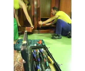 Embalaje profesional: Servicios de Montrans