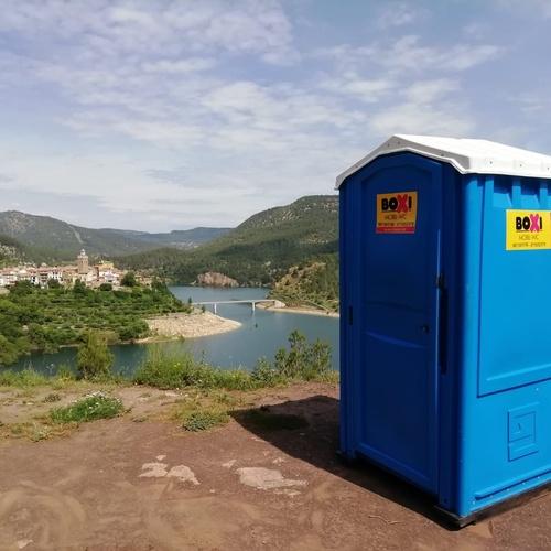 Alquiler de WC portátiles en Mallorca