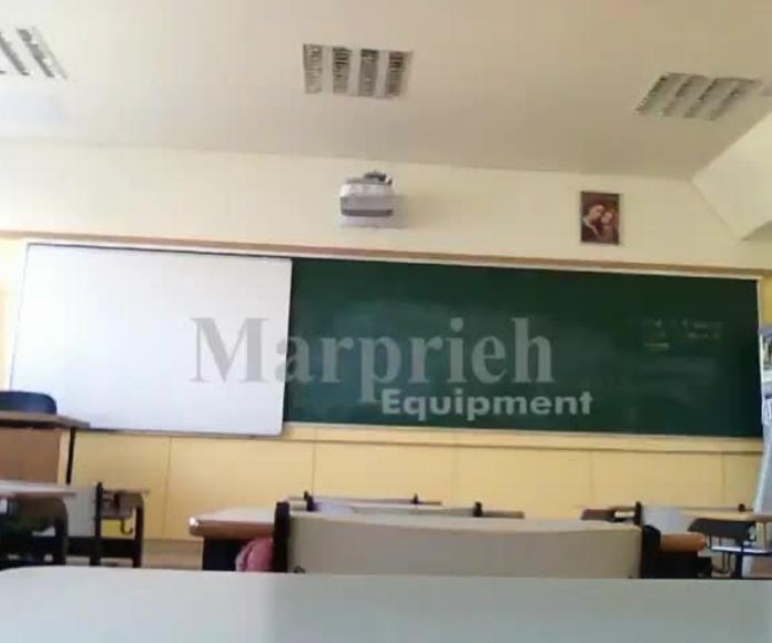 Video del facil manejo de la pizarra movil
