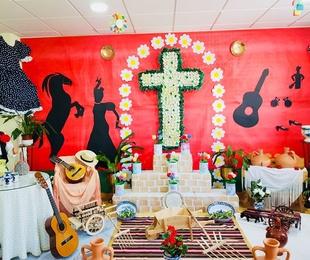 Celebración del día de la Cruz en Granada