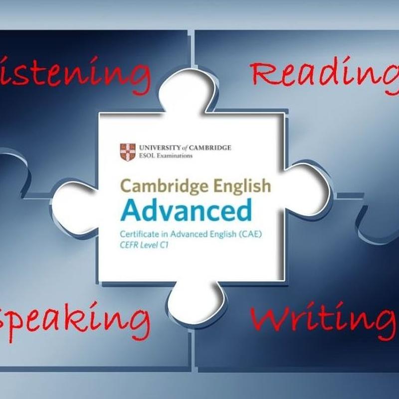 CAE: FINAL PREPARATION                                             NIVEL C1: Cursos de Oxford School of English - Tembleque