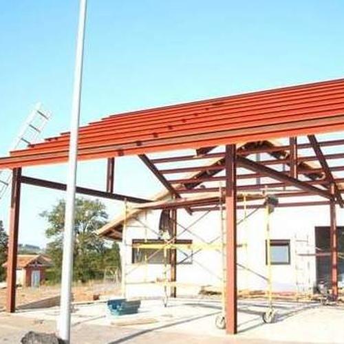 Estructuras metálicas en Asturias