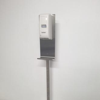 Dispensador automático de gel con base de acero Inox