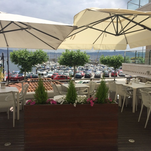 Restaurante con excelentes vistas