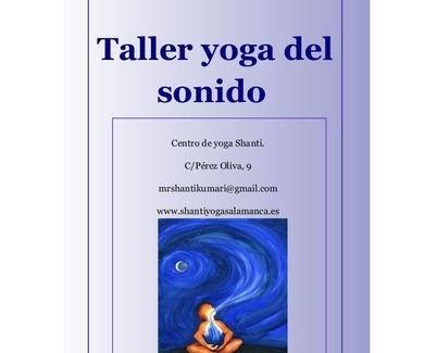 Taller de Yoga del sonido 2019