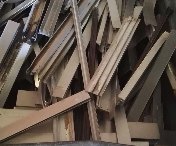Reciclaje Aluminio Perfil