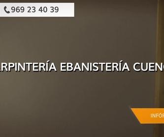 Puertas de madera en Cuenca | Carpintería Julián Martínez