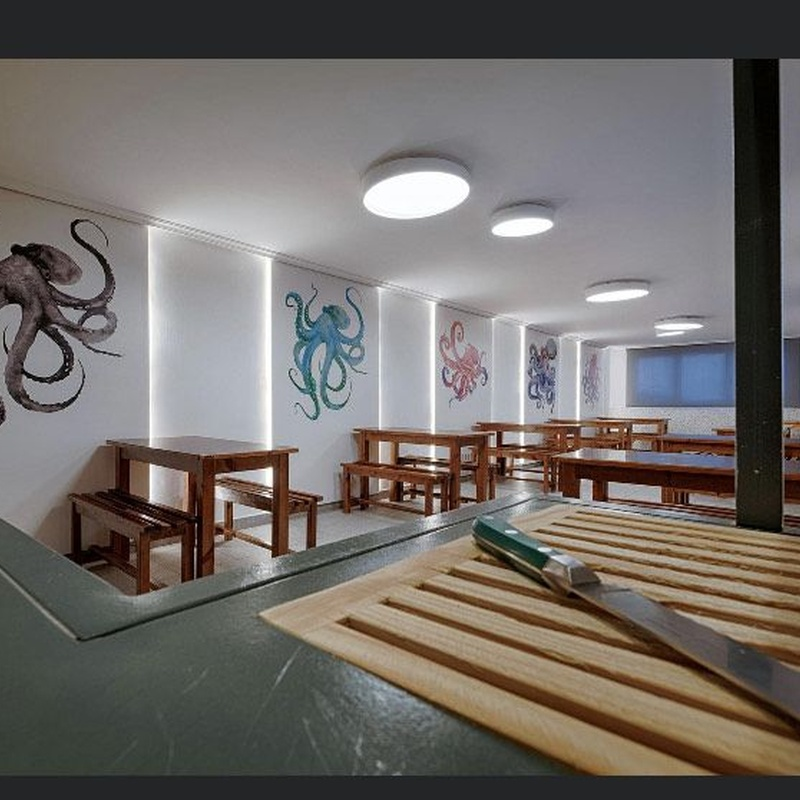 Salón y terraza: Especialidades y Servicios de A Casa do Pulpo