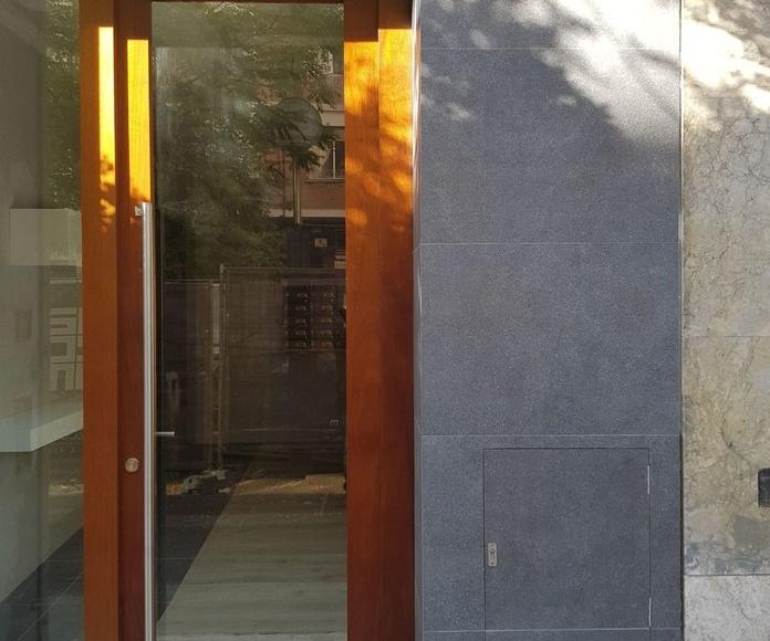 Puerta de entrada a portal