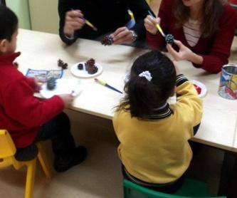 Inglés diario desde 12 meses integrado en la programación: Actividades y Servicios de Mi Primer Cole