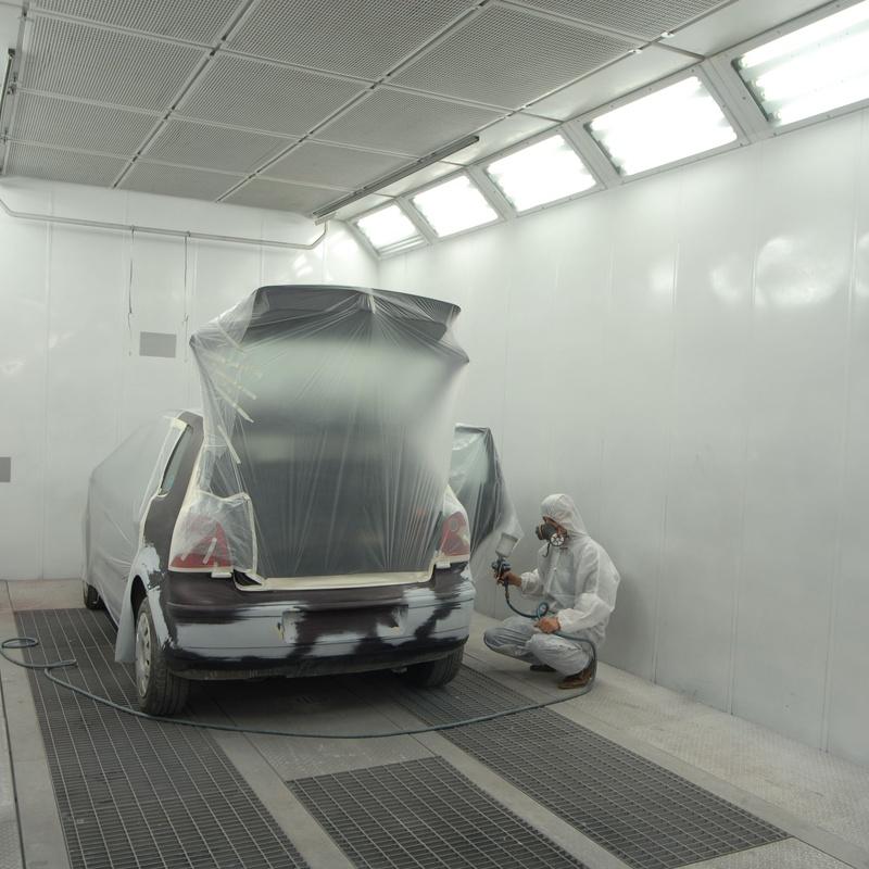 Chapa y pintura: Servicios de Grupo Carsan