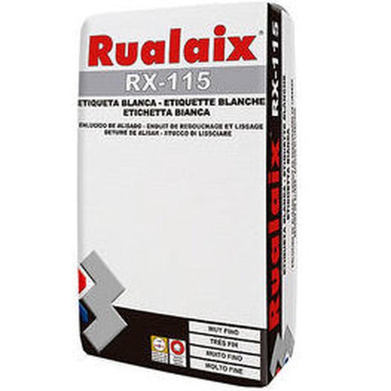 RX-115 Etiqueta Blanca en almacén de pinturas en pueblo nuevo.