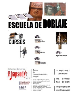 CURSO DE DOBLAJE