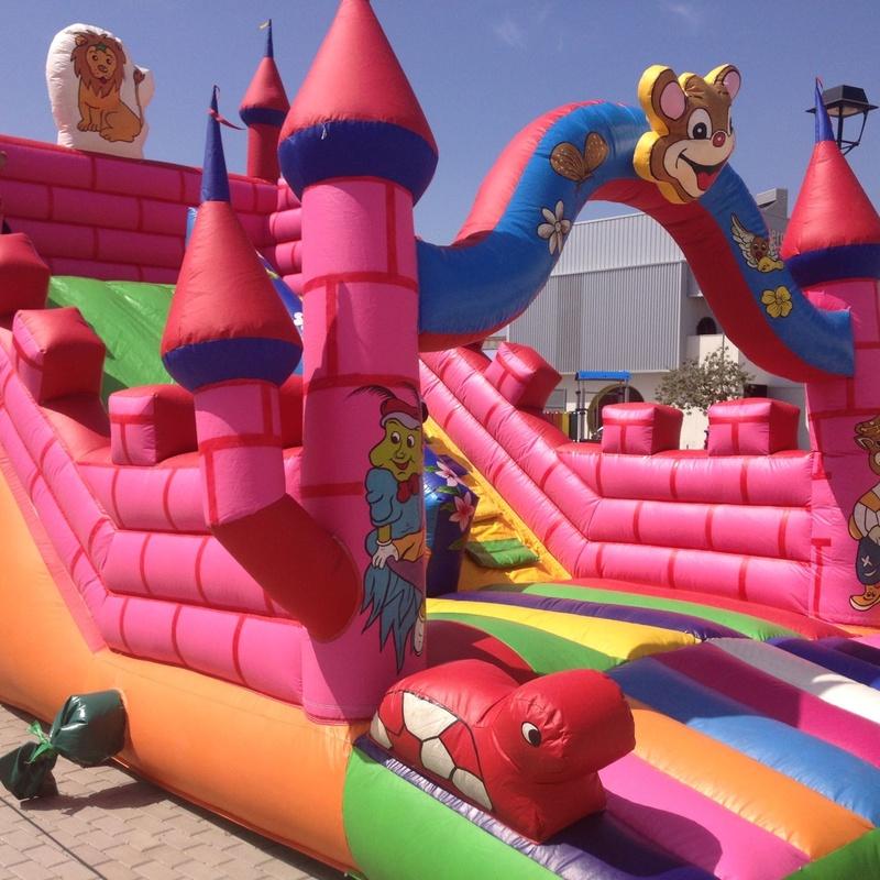 Castillos grandes: Catálogo de Hinchables Divertidos