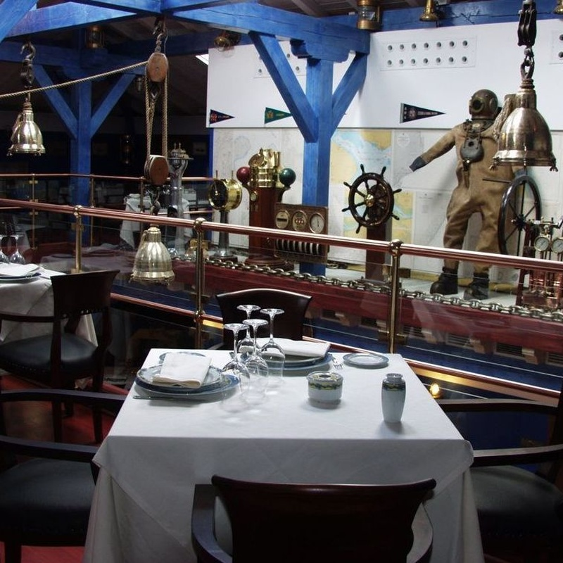Menú 1: Menús para Bodas y Empresas de Restaurante Untzigain - Museo el Barco