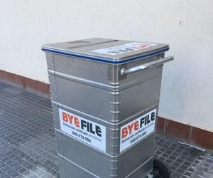 Destrucción certificada de archivos en Málaga | Byefile
