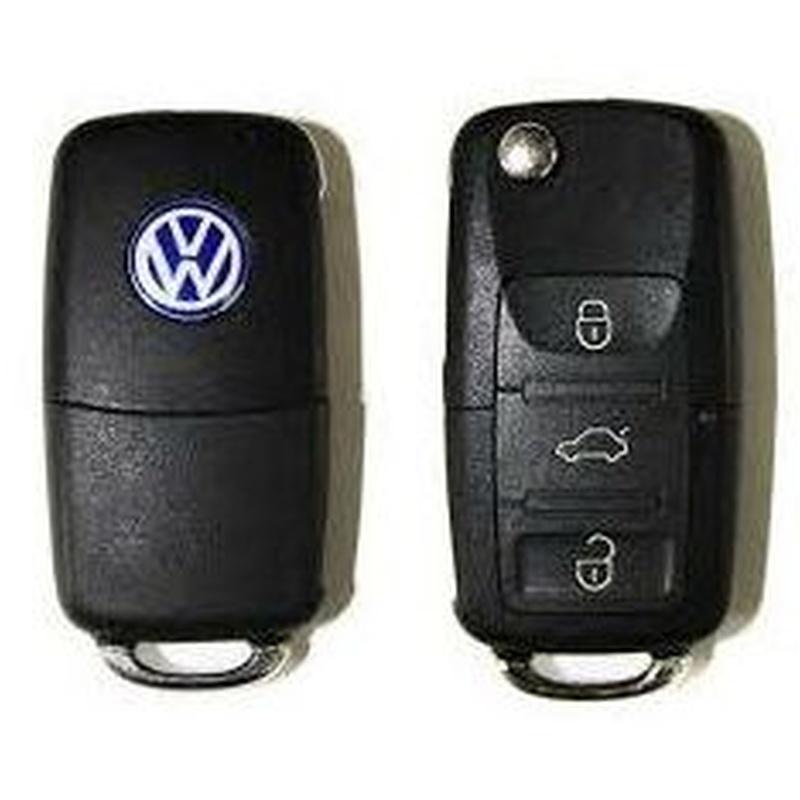 Llave Wolkswagen, Golf, Passat, Jetta, etc. ID 48, 48CAM: Productos de Zapatería Ideal