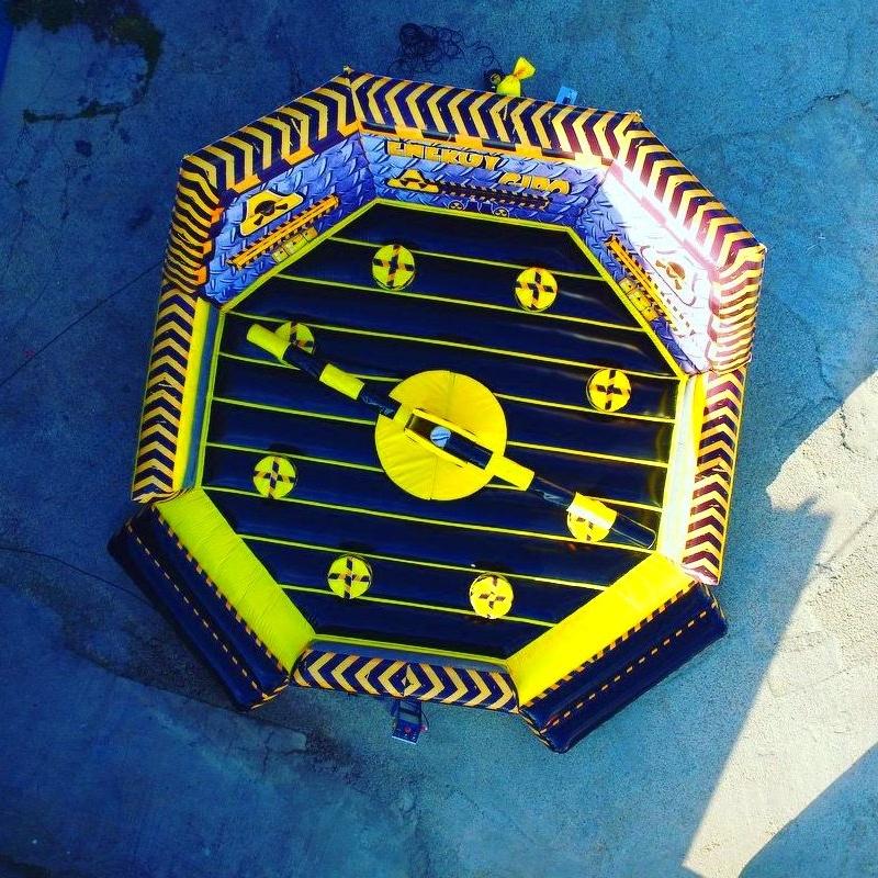 Eliminator octogonal negra : Catálogo de Hinchables Happy Jump