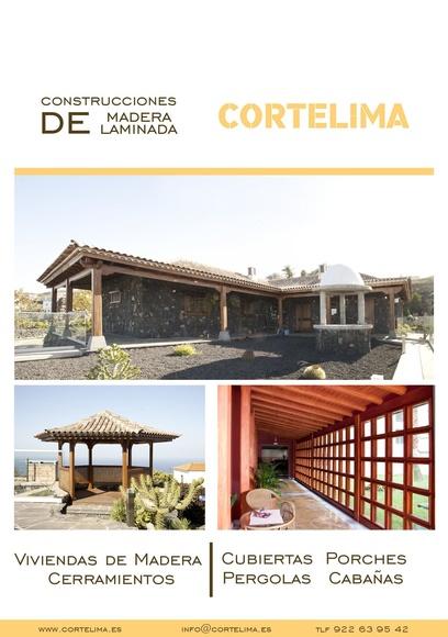 Montaje de casas de madera y pérgolas de gran calidad en tenerife.
