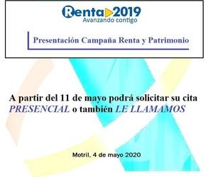 Campaña Declaración Renta 2019