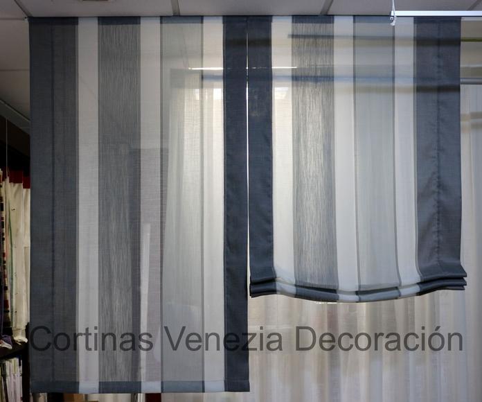 Estor dos Hojas/Rayas: Catálogo de Venezia Decoración