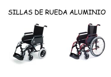 Sillas de rueda aluminio