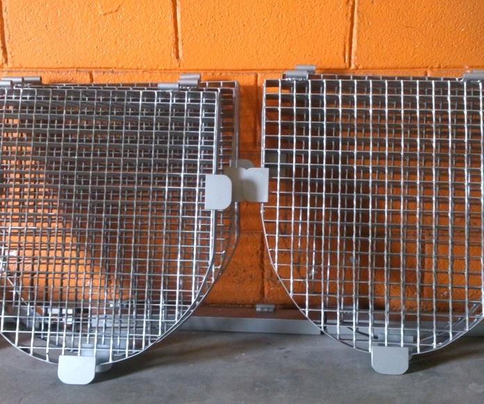 Rejillas de tramex: TRABAJOS de Carpintería Metálica Hialupin