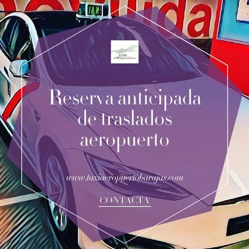 Radio taxis aeropuerto en Madrid