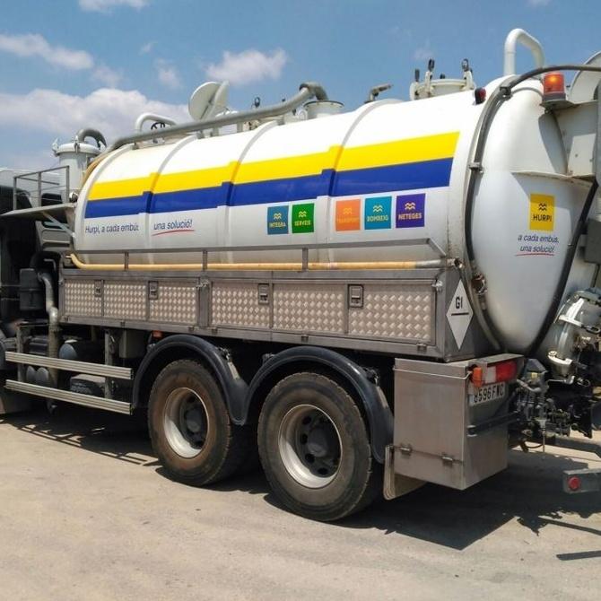 Características y mantenimiento del camión cisterna