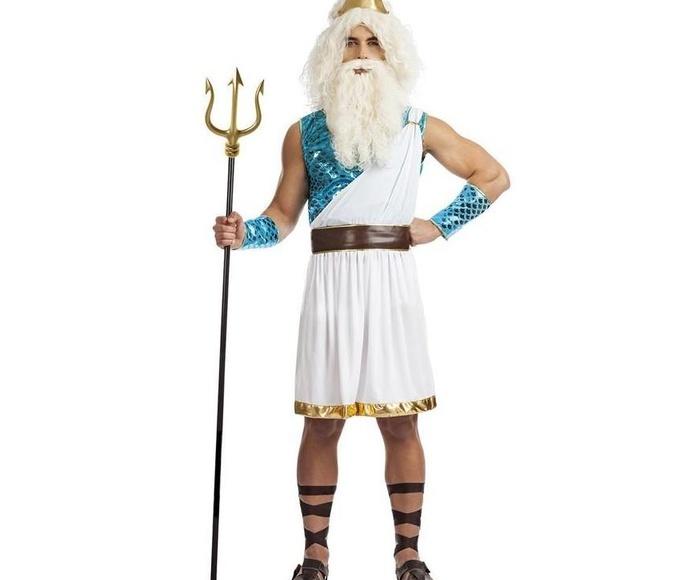 Disfraz dios Neptuno