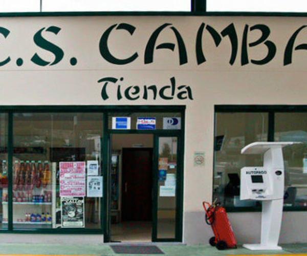 Tienda de comida, bebida y repuestos en Lugo