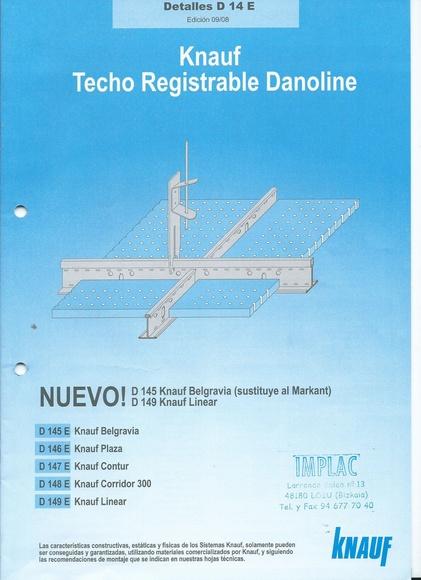 Techo registrable Danoline