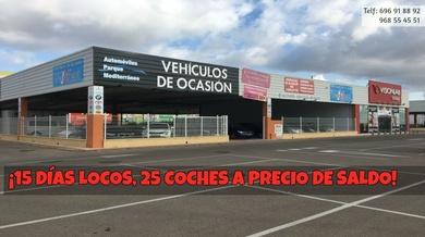 ¡15 DÍAS LOCOS, 25 COCHES AL COSTO!