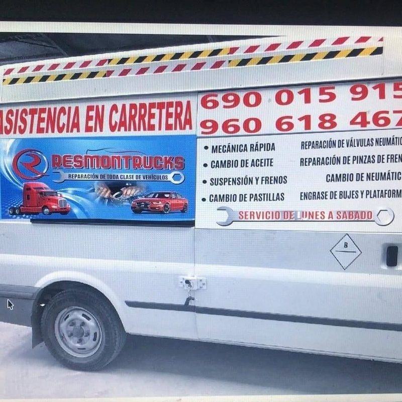 Asistencia en carretera: Servicios especializados de Mecánica Express Resmontrucks