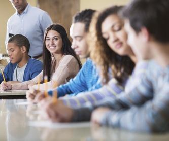 Prueba de selectividad (EvAU): Servicios de Academia Iowa