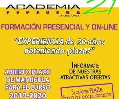 """CARTA A OPOSITORES Y OPOSITORAS DE """"ACADEMIA 21 PEPE VERA"""""""