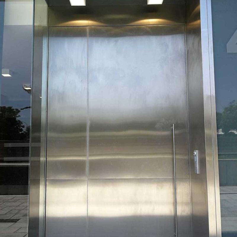 Puerta acero inoxidable :  de Icminox