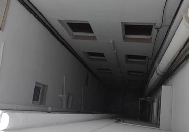 Rehabilitación de patios de luces