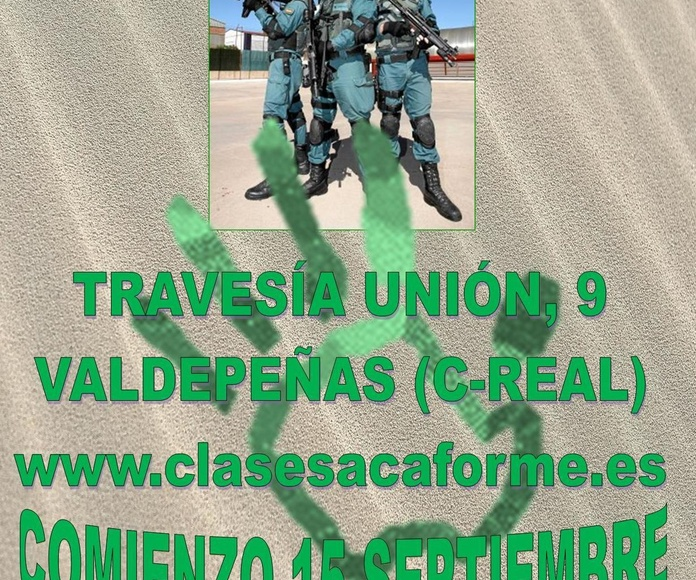 OPOSICIONES GUARDIA CIVIL - 2019