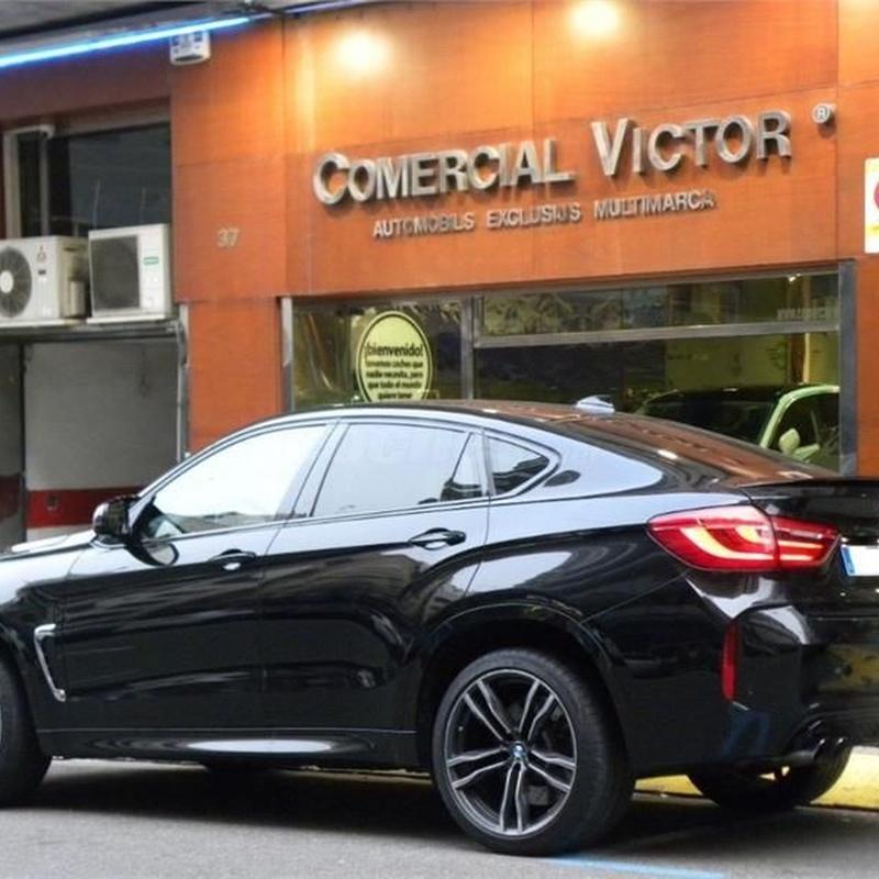 BMW X6 M 5p.: Servicios de Comercial Víctor