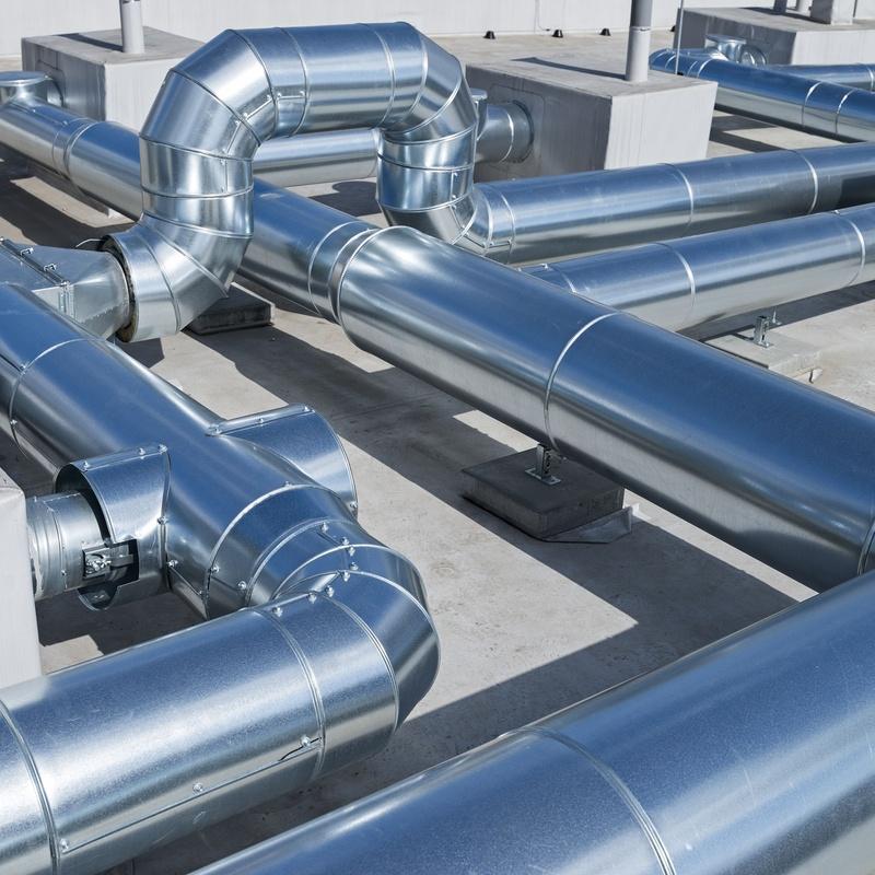 Limpieza de conductos de aire y chimeneas: Servicios recogida de aceite de Reciclados Deter-Oil