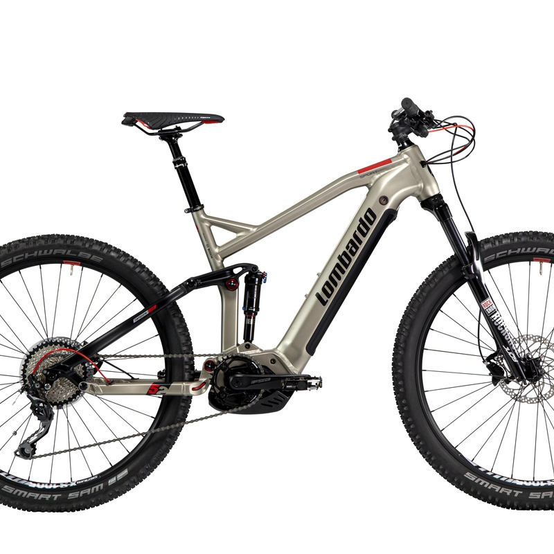 LOMBARDO BOSCH DOBLE SUSPENSION: Productos de E-Bike Guadarrama