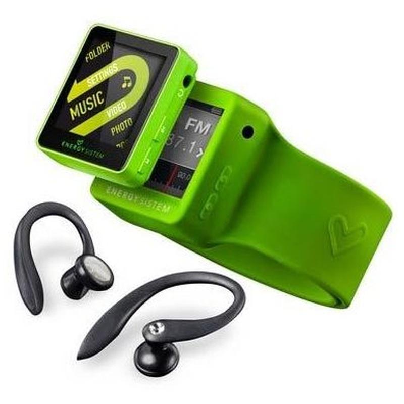 Energy Sistem MP4 2508 Sport 8GB Lime Green: Productos y Servicios de Stylepc