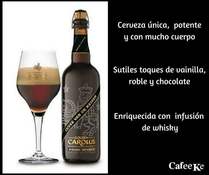 "Nueva Cerveza ""Gouden Carolus Cuveé van de Keizer"